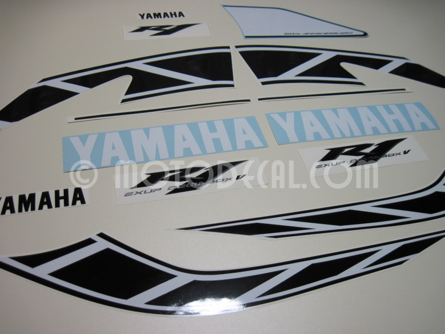 Yamaha Yzfr1 2006 Yellow 50th Anniversary Decal Kit By. Caused Stress Signs Of Stroke. Company Laptop Stickers. Clash Clans Logo. August 4 Signs Of Stroke. 4x4 Car Decals. Egg Carton Stickers. Large Logo. 21 Year Logo