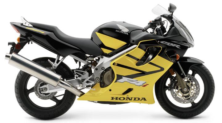 Honda CBR 600 F4i 2004 Black Yellow DECAL KIT by MOTODECAL.COM