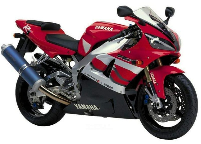 yamaha yzf r1 2000 red decal kit by motodecal com. Black Bedroom Furniture Sets. Home Design Ideas