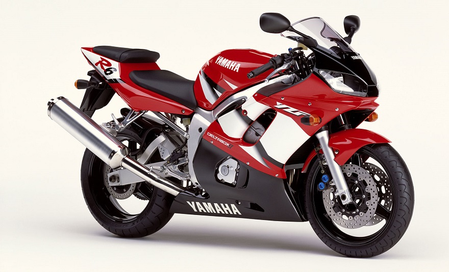 Yamaha Yzf R6 2002 Red Decal Kit By Motodecal Com