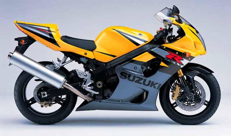Suzuki Gsxr  Black And Yellow