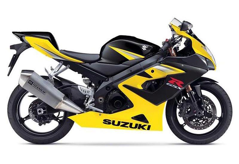 Suzuki R Gsx Yellow