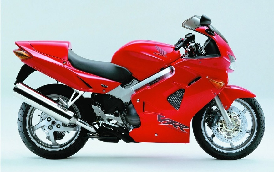 Honda Vfr 800 Fi 1998 2001 Red Decal Kit By Motodecal Com