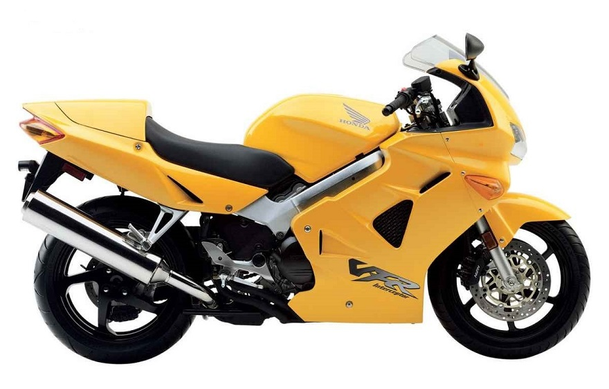 Honda Vfr 800 Fi Interceptor 1998 2001 Yellow Decal Kit By