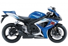 SUZUKI GSX-R 750 2006 BLUE WHITE DECAL KIT